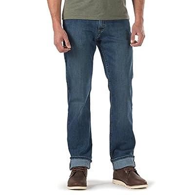 VANS Jeans V56 VNSWH2Z Dark Stone Blue Regular Standard Straight Leg Denim Pants