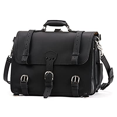 Saddleback Leather Company Classic Briefcase, 100% Full Grain Leather with 100 Year Warranty