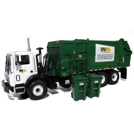 1/34 WM Mack MR with Side Load (Waste Management Garbage Truck compare prices)