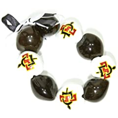 Buy NCAA San Diego State Aztecs Go Nuts Kukui Nut Bracelet by Style Pasifika