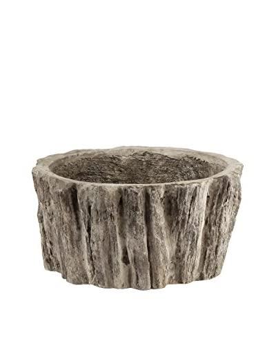 Napa Home & Garden Small Millcreek Branch Tapered Cachepot, Gray