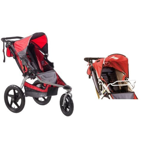 bob stroller strides single fitness stroller and car seat adapter for single strollers baby. Black Bedroom Furniture Sets. Home Design Ideas