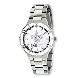 Ladies NFL New Orleans Saints Pearl Watch by Jewelry Adviser Nfl Watches