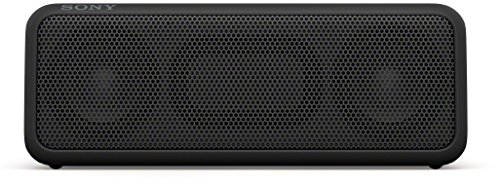 Sony SRS-XB3 Altoparlante Wireless Portatile, Extra Bass, Bluetooth, NFC, Resistente all'Acqua, Nero