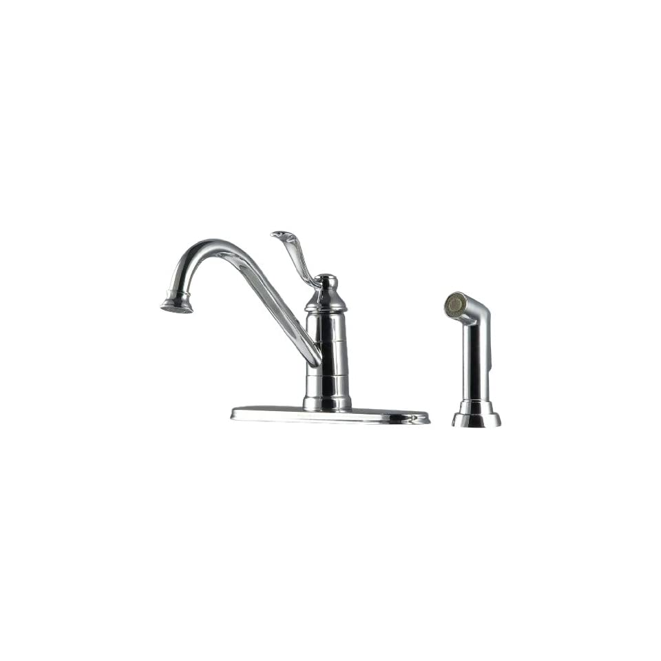 Price Pfister T34 4PC0 One Handle Kitchen Faucet with