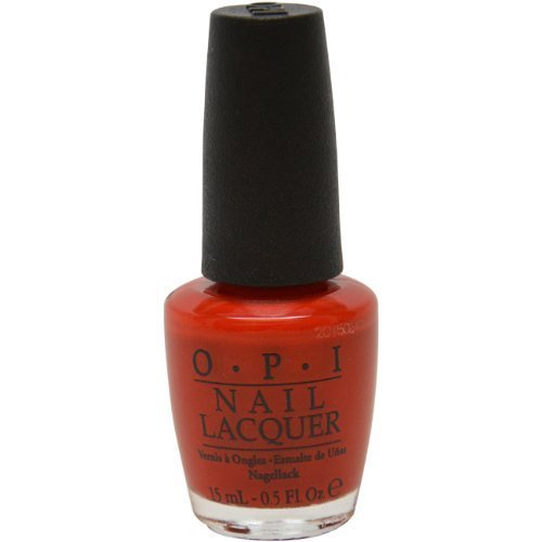 OPI Nail Lacquer, # NL A 16 The Thrill of Brazil, 0.5 Ounce by OPI