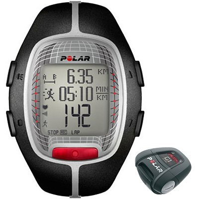 Image of Polar RS300X G1 (RS300XG1) Black Running Heart Rate Monitor-90036625 (B0064OG52S)