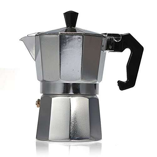 Aluminum Moka Espresso Latte Percolator Stove Coffee Maker Coffee Percolators (Iced Coffee Zoku compare prices)