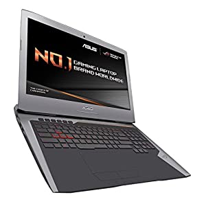 ASUS ROG G752VY-GC284T 17.3-Inch Gaming Laptop (Grey) - (Intel Core i7-6820HK 2.7 GHz Processor, 32 GB RAM, 1 TB HDD Plus 512 GB PCIE SSD, NVIDIA GeForce GTX980M Graphics Card, Windows 10)