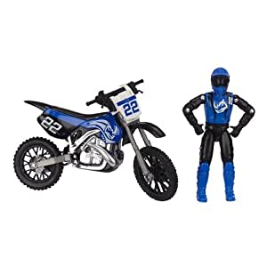 mxs bike and rider team tough dirt toys games. Black Bedroom Furniture Sets. Home Design Ideas