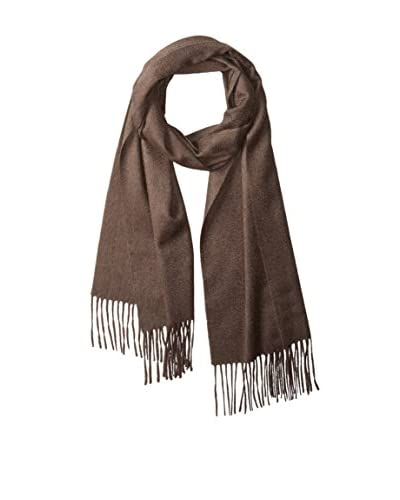 Thirty Five Kent Men's Cashmere Solid Woven Scarf, Buffalo