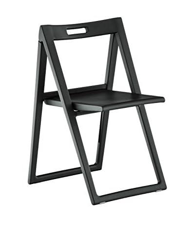 PEDRALI Chair Set van 2 Enjoy 460 zwart