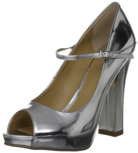 Nine West Women's Topshoe3 Argento Open Toe 3145263109 5 UK