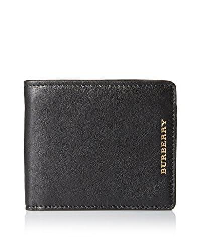 Burberry Men's Bifold Wallet, Black