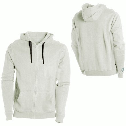 Hemp Hoodlamb Zip-Up Hooded Sweatshirt - Men's Arctic Canno, XXL
