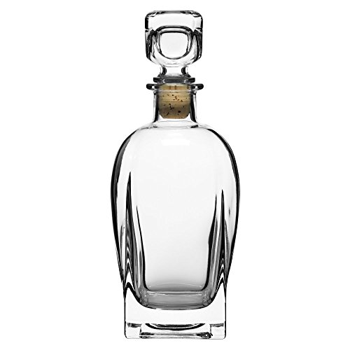 Luigi Bormioli Rossini Decanter with Stopper,23.75 Oz
