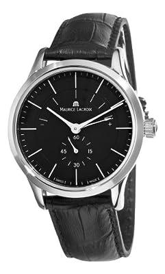 Maurice Lacroix Men's LC7008-SS001330 Les Classiques Quartz Black Power Reserve Indicator Dial Watch from Maurice Lacroix