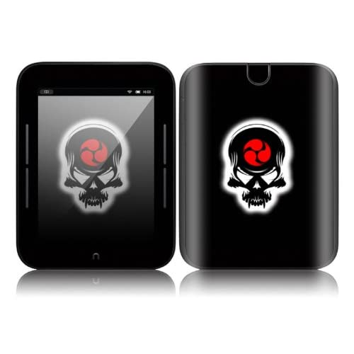 Samurai Death Skull Design Decorative Skin Cover Decal Sticker for  NOOK Simple Touch 6 inch Touchscreen eBook Reader