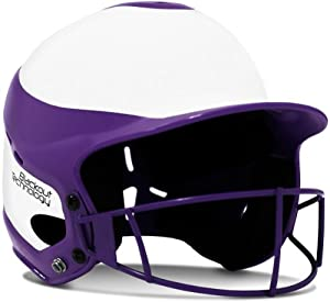 RIP-IT Vision Pro Softball Helmet Face Guard ft. Blackout Technology by Rip-It