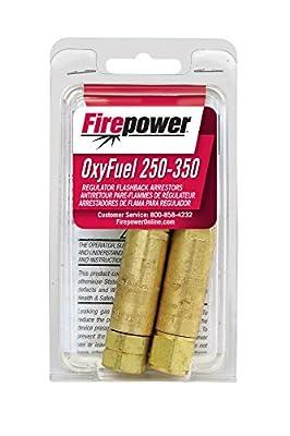 Firepower 0656-0016 Flamebuster Torch Regulator Flashback Arrestor Set with Check Valve