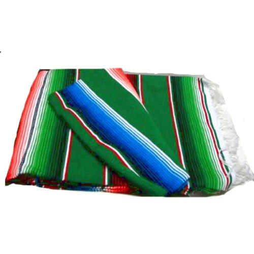 green-large-serape-saltillo-mexican-blanket-7-5-zerape