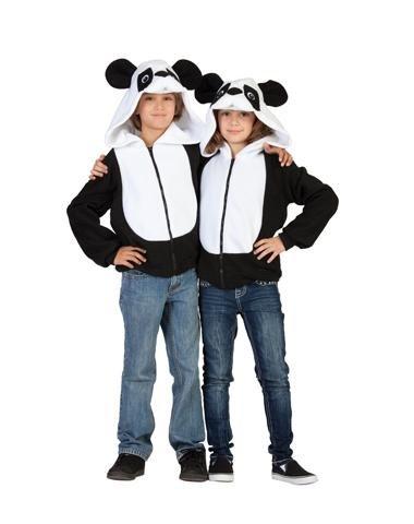 RG Costumes 'Funsies' Parker Panda Hoodie, Child Large/Size 12-14 (Funsies Parker The Panda Unisex Costume)