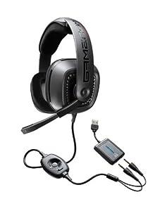 Plantronics Gamecom 777 Micro casque PC binaural filaire Technologie Dolby 5.1 Noir