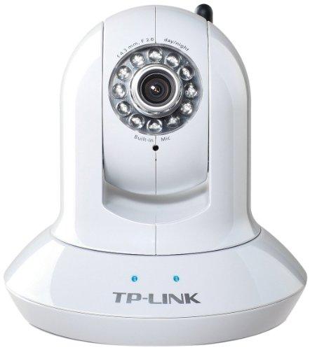 TP-Link TL-SC4171G Pan/Tilt Surveillance Camera (54Mbps Wireless, 10M Night Vision, MPEG-4/MJPEG, 3G View, 16 Channel Software)