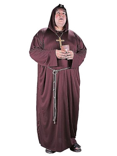 Monk Adult Costume Plus size