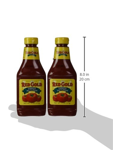 Red gold ketchup squeeze 14 ounce pack of 2 food beverages tobacco