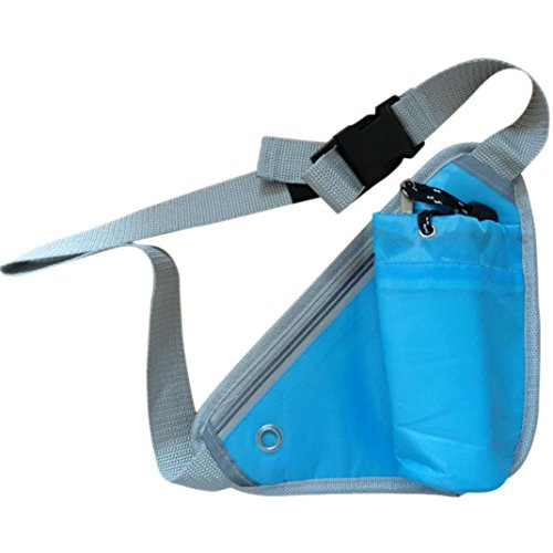 Laimeng, Bicycle Sports Running Triangular Waist Bag Water Bottle Pocket Bag (Blue) (Soda Can Ashtray compare prices)