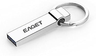 EAGET U90 64GB Tablet PC USB 3.0 Portable Storage Memory Full Metal Flash Pen Drive Encryption Waterproof with Key Ring