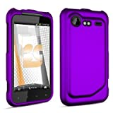 HTC Droid Incredible 2 Rubberized Protector Case Cover - Purple