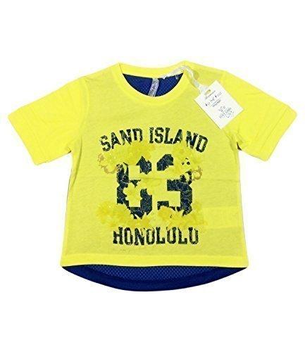 Ragazze T-Shirt To Be Too Stile Italiano Brand - Giallo, 128cm - circa 7-8 anni, Giallo