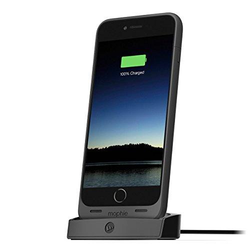 日本正規代理店品・保証付mophie juice pack dock for iPhone 6 Plus (juice pack for iPhone 6 Plus専用デスクトップ充電スタンド) MOP-PH-000107
