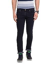 Dais Dark Grey Coloured Cotton Stretch Jeans 30