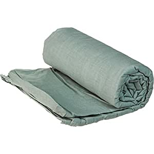 Cocoon Cotton TravelSheet (Cactus Blue, 86-Inch x 35-Inch)