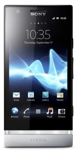 Sony Lt22I Xperia P Unlocked Android Smartphone Nxt Series With 4-Inch Reality Display, 1Ghz Dual Core, 8Mp Camera, 16 Gb Memory - No Warranty - Silver