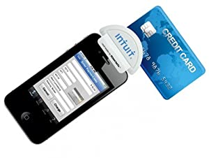 Intuit Mobile Credit Card Reader Swiper Smartphone Iphone/Android/Ipad/BlackBerry