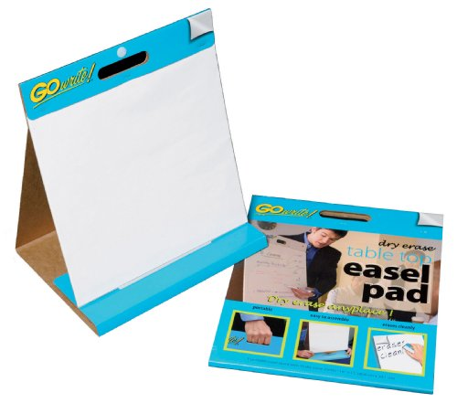 gowrite dry erase table easel
