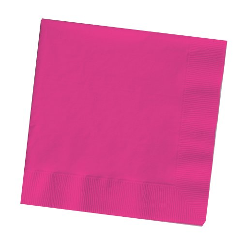 3-Ply Dinner Napkins, Hot Magenta