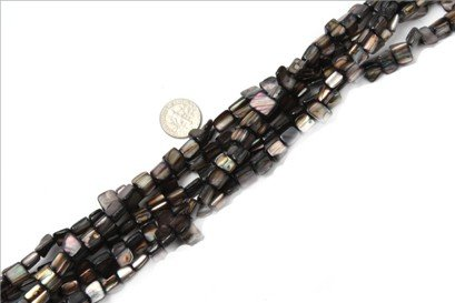 8mm--9mm freefrom gemstone shell beads strand 15