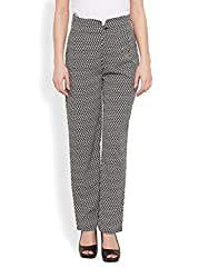 MONOCHROME TAPERED TROUSERS