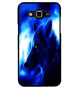 ColourCraft Fox Look Design Back Case Cover for SAMSUNG GALAXY GRAND 3