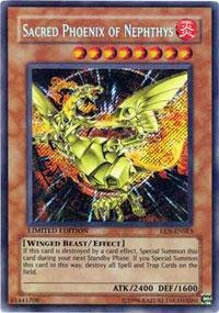 Yu-Gi-Oh! - Sacred Phoenix of Nephthys (EEN-ENSE3) - Elemental Energy - Limited Edition - Secret Rare - 1