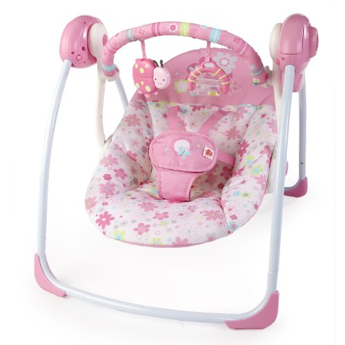 Bright Starts Portable Swing, Blossomy Blooms