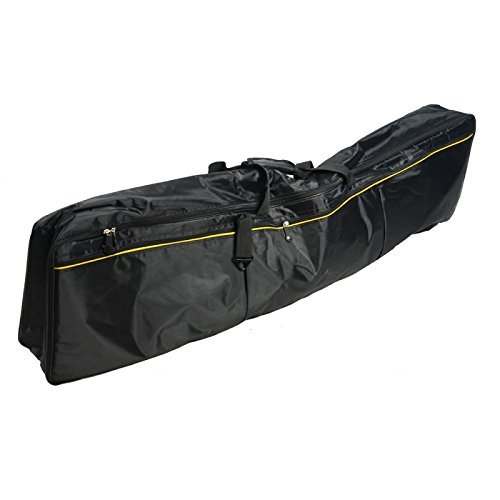Great Value Parts & Accessories Fashionable Upscale 88-Key Electronic Keyboard Oxford Cloth Bag Black