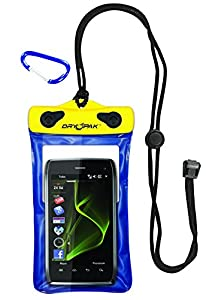 DRY PAK DP-46 Cell Phone, GPS, MP3 Waterproof Case, Blue