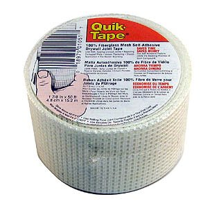 Buy 1-7/8 Inch x 50 Foot Self-adhesive Drywall Tape (Quik-Tape Painting Supplies,Home & Garden, Home Improvement, Categories, Painting Tools & Supplies, Wallpaper Supplies, Wall Repair)