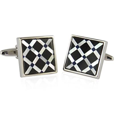 Cuff-Daddy Semi-Precious Distinguished Cufflinks